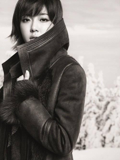 朴韓星 BLU PEPE 冬季代言畫報