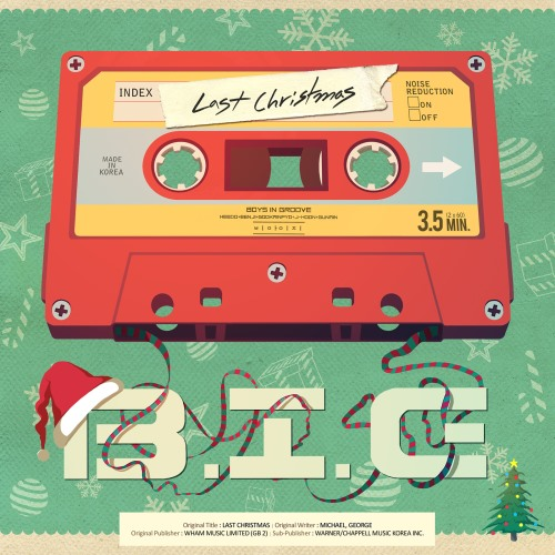 B.I.G《Last Christmas》封面