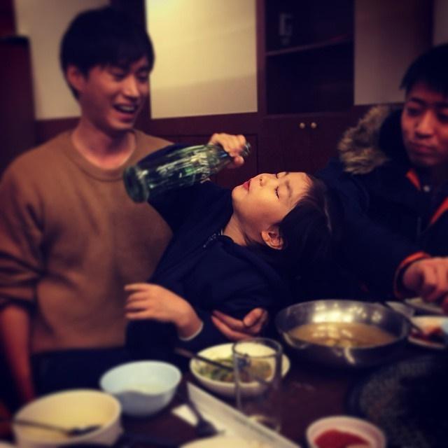 Haru 喝醉了?