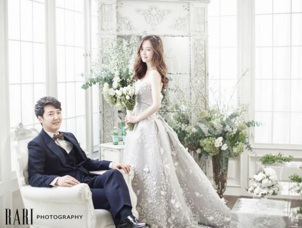 尹相铉、Maybee 婚纱画报