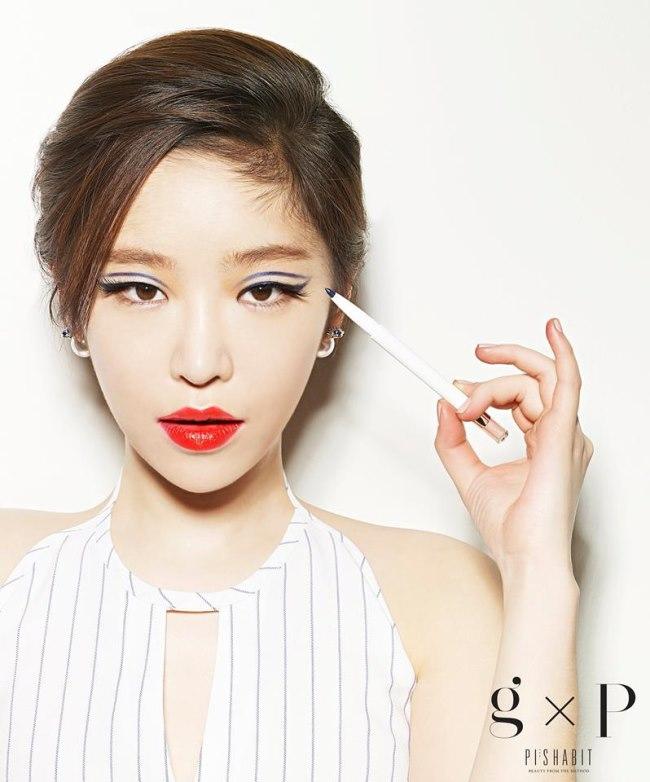 佳人推出彩妆品牌 gxp