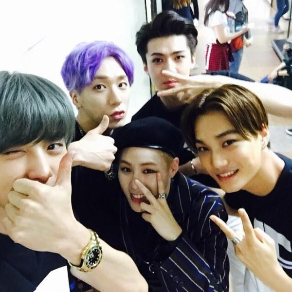 Chan Yeol、KAI、世勳、TIMOTEO、Sung Woon