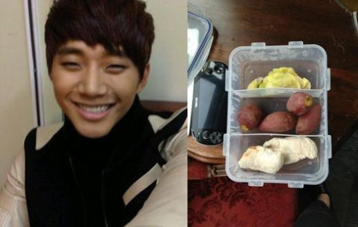 韓國明星如何胖瘦自如? 俊昊食物