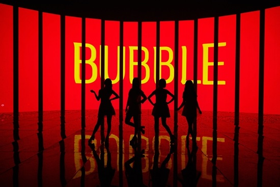 Girl's Day《Hello Bubble》宣傳照