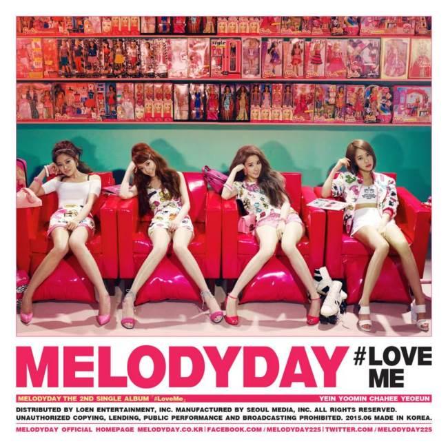 Melody Day《Love Me》概念照