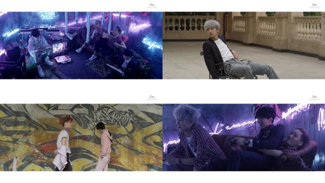 EXO《LOVE ME RIGHT》未公開影像 (一)