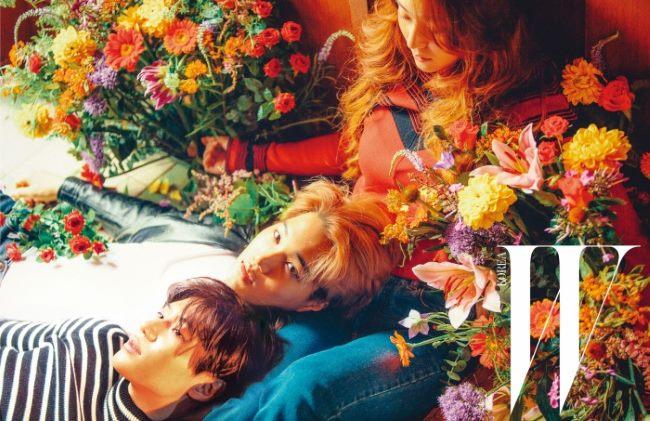 Krystal、泰民、KAI @ W Magazine
