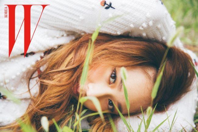 Krystal @ W Magazine