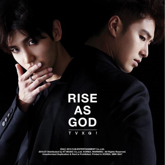 东方神起《Rise As God》封面