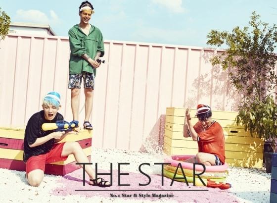 C.A.P、L.Joe、Ricky THE STAR 画报