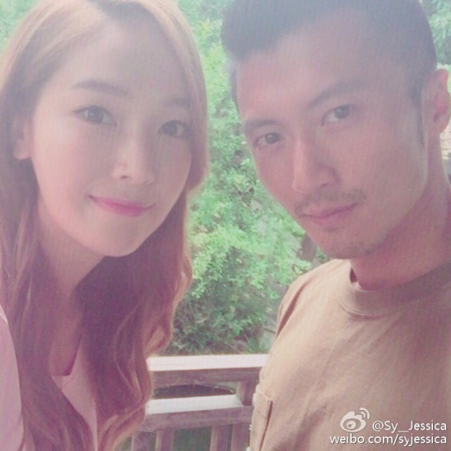 Jessica 与谢霆锋合照公开