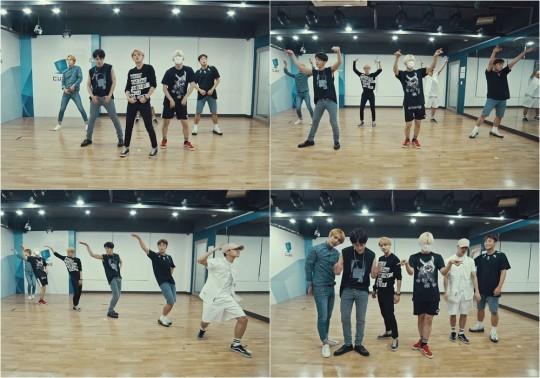 BEAST《YeY》舞蹈練習