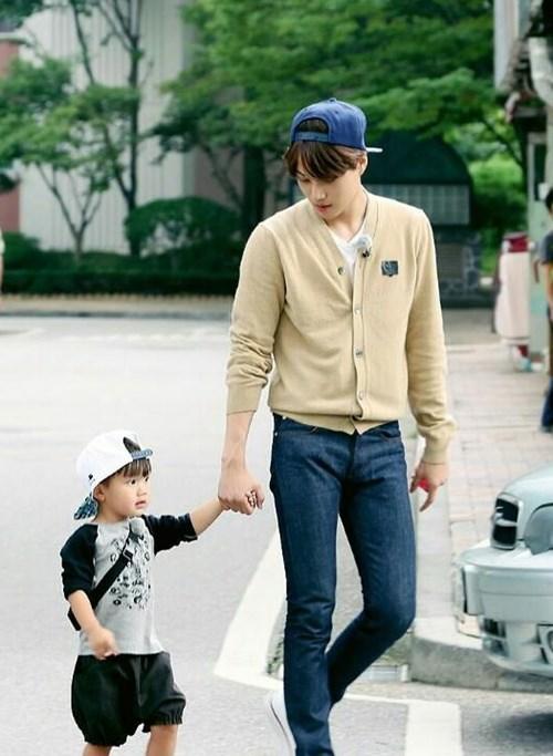 KAI、Ricky Kim 兒子 Tae Oh