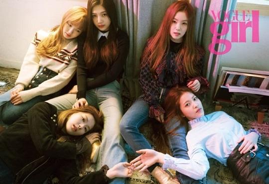Red Velvet《Vogue Girl》复古画报