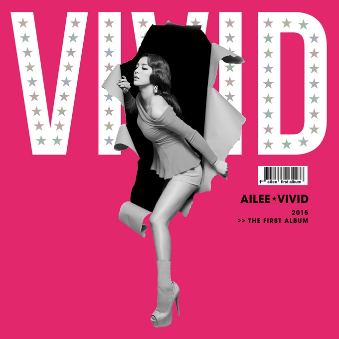 Ailee 《VIVID》封面照