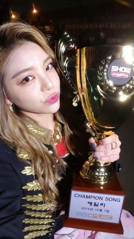 Ailee《Show Champion》一位