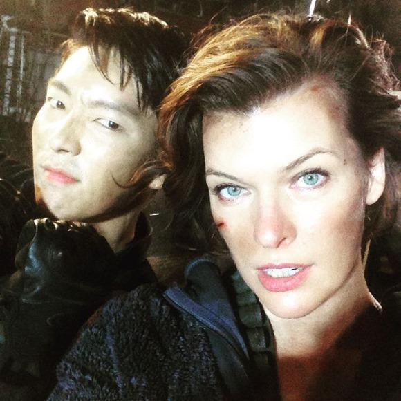 李準基参与《恶灵古堡6》拍摄!