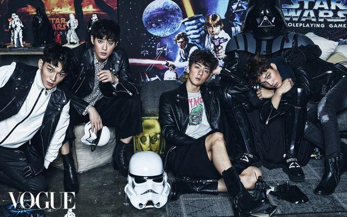 EXO Su Ho、KAI、CHEN、世勳@VOGUE 2015/12月號