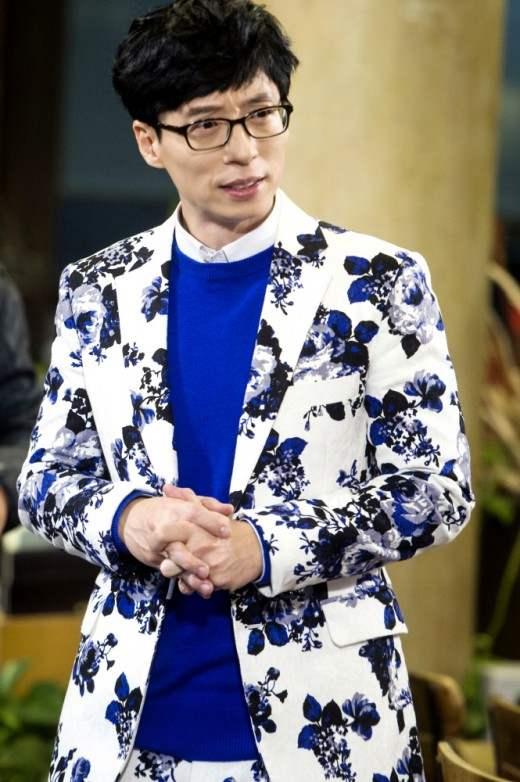 刘在锡送外套给所有节目工作人员