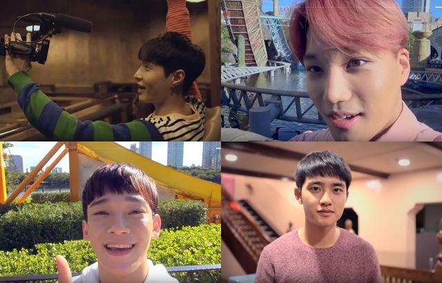 (縮圖)EXO 樂天世界遊樂場系列廣告:LAY、KAI、CHEN、D.O.
