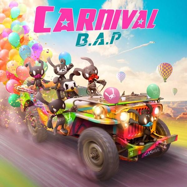 B.A.P 第五張迷你專輯《Carnival》封面