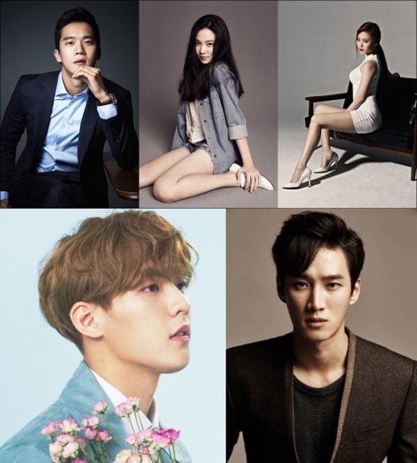 河錫辰、尹邵熙、Yura、旼赫、安寶賢