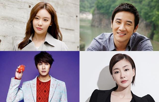 (縮圖)金亞中、嚴泰雄、智鉉寓、朴孝珠(來源:Naver、Woman Sense、The Celebrity、hankooki)