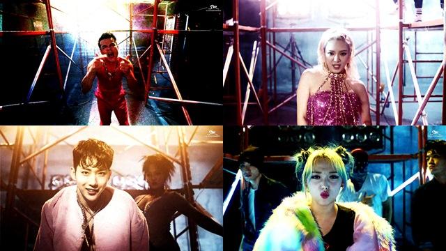 朴軫泳、Min、趙權、孝淵《Born to be Wild》 MV