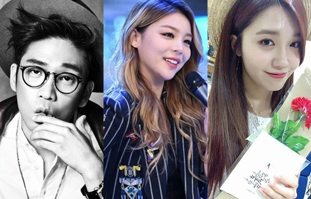 (縮圖)MC夢、Ailee、恩地(來源:DREAM T Ent.、OSEN、A Pink @推特)