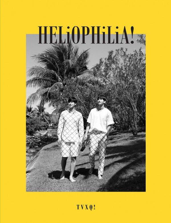 东方神起《HELiOPHiLiA!》9/29 发行