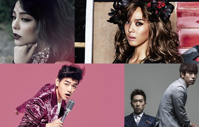 Ailee 新輯參與藝人