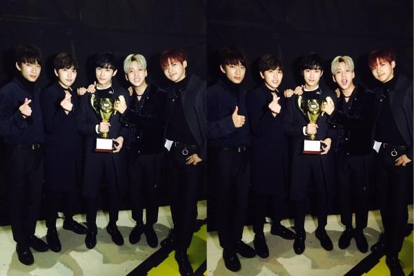B1A4 获《Show Champion》一位!