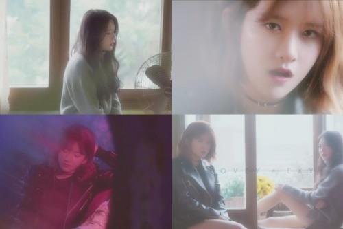 EXY、LOVEY 翻唱《LOTTO》,《血汗淚》影片截圖