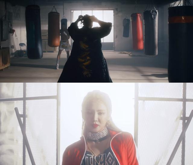 孝淵《Wannabe》MV 預告影片截圖