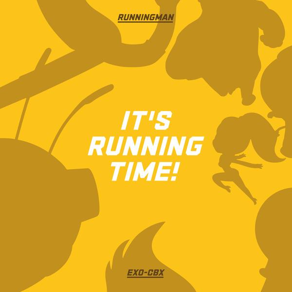 EXO-CBX《Running Man》動畫版主題曲封面