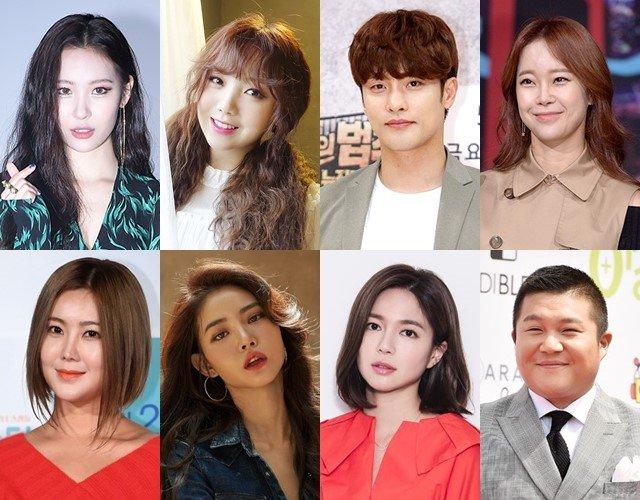 善美、Lovelyz Kei、成勛、白智榮、Solbi、黃勝妍、李伊利雅、曹世浩