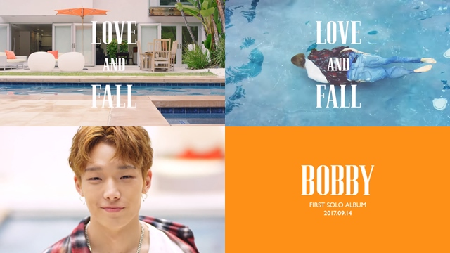 Bobby《LOVE AND FALL》預告影片截圖